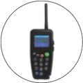 K4 - передатчик-аудиогид. В системах радиогидов односторонней связи он может использоваться вместо обычного передатчика. В память этого устройства можно записать контент множества аудиоэкскурсий на разных языках. Групповод на удобной клавиатуре с экраном выбирает соответствующие фрагменты этих аудиоэкскурсий и/или говорит в микрофон - экскурсанты группы слушают эти рассказы в своих приемниках