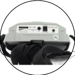 M-125 - переносной усилитель голоса, мегафон