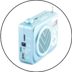 M-186 - переносной усилитель голоса, мегафон